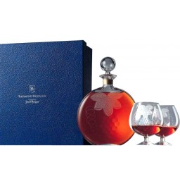 "Коньяк Raymond Ragnaud, ""Hors d'Age"" in cristal decanter, with glasses, 0.45 л"