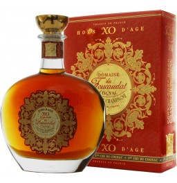 Коньяк Domaine du Foucaudat XO Hors d'Age, in decanter, gift box, 0.7 л
