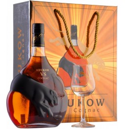Коньяк Meukow V.S., in gift box with glass, 0.7 л