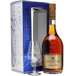 Коньяк Louis Royer VSOP, gift box with glass, 0.7 л