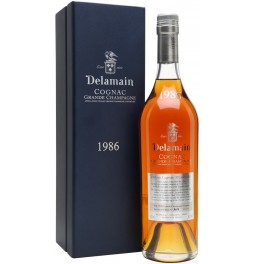 Коньяк Delamain, Vintage 1986, gift box, 0.7 л